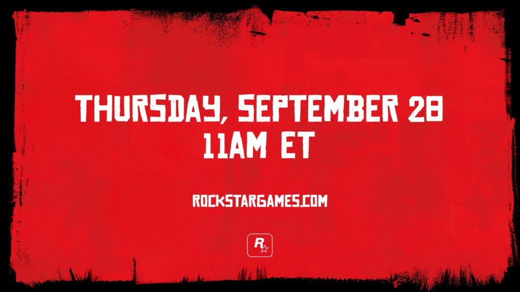 Red Dead Redemption 2 aankondiging