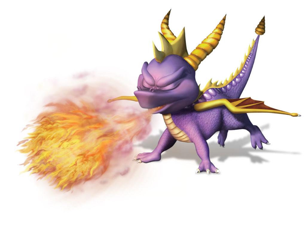 Spyro the Dragon Fire